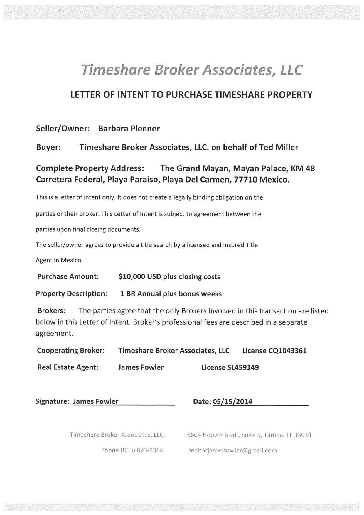 Letter Of Intent On Property Heres How To Write Your